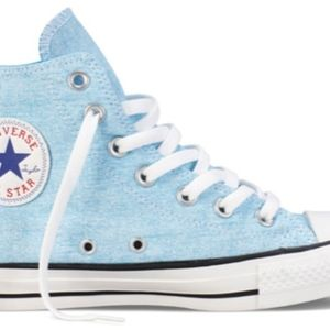 Converse Chuck Taylor Washed Neon Canvas Trainers